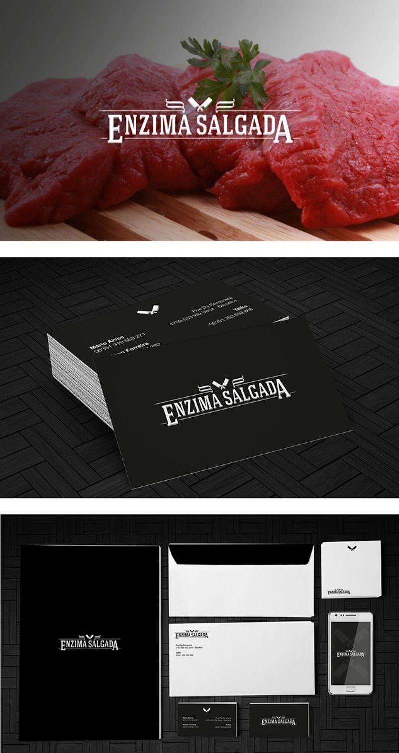 Enzima Salgada - butcher's