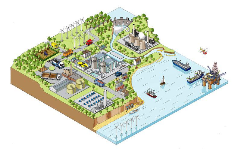 Energy Illustration