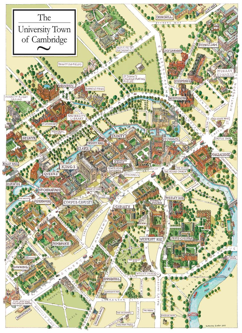 The University Town of Cambridge