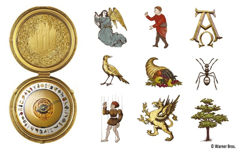 Golden Compass Alethiometer Design Icons