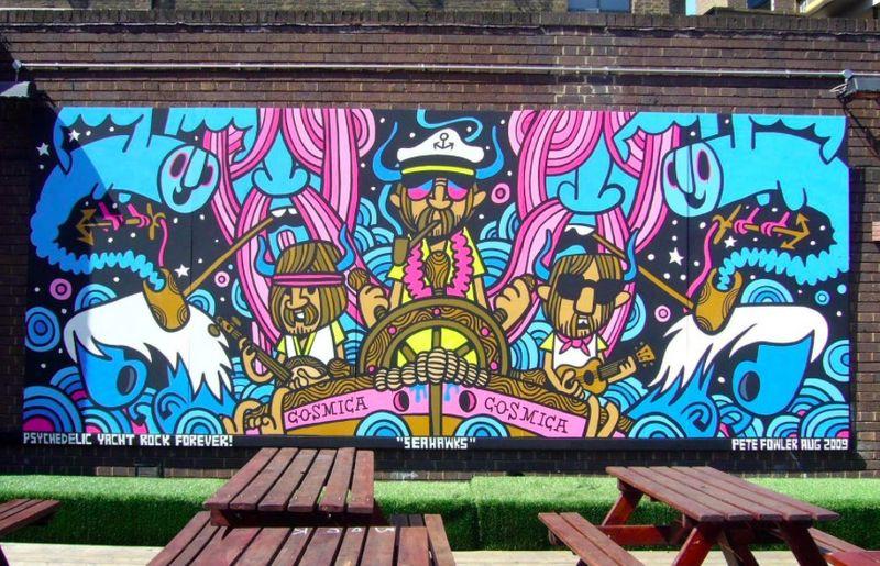 Truman Brewery Billboard