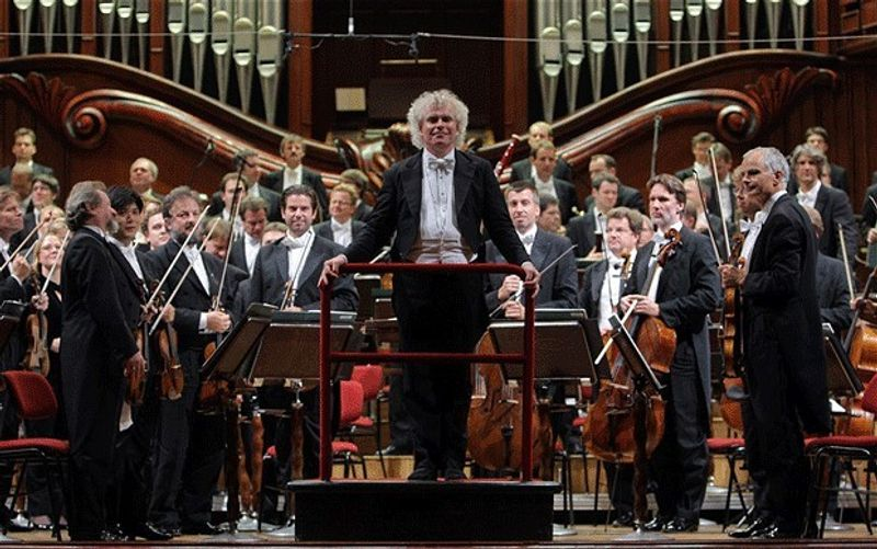 Sir Simon Rattle and the Berlin Philharmoniker