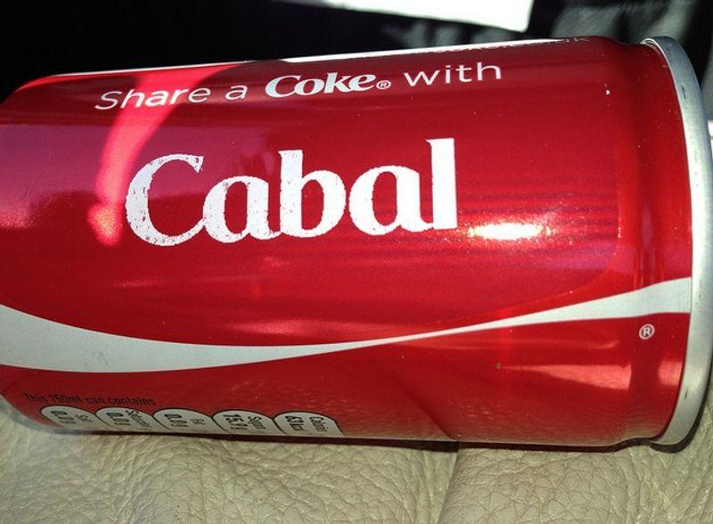 Club Cabal: Share a coke with Cabal
