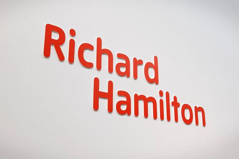 Richard Hamilton Interpretation graphics