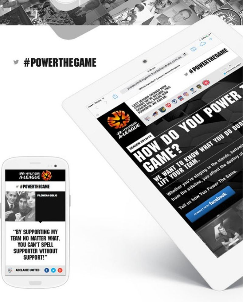 YOU POWER THE GAME