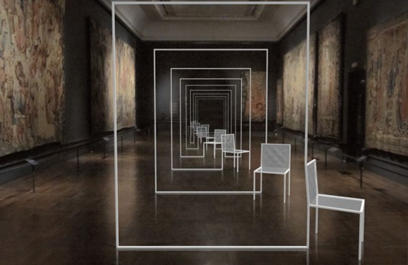 Mimicry Chairs by Nendo at the V&A
