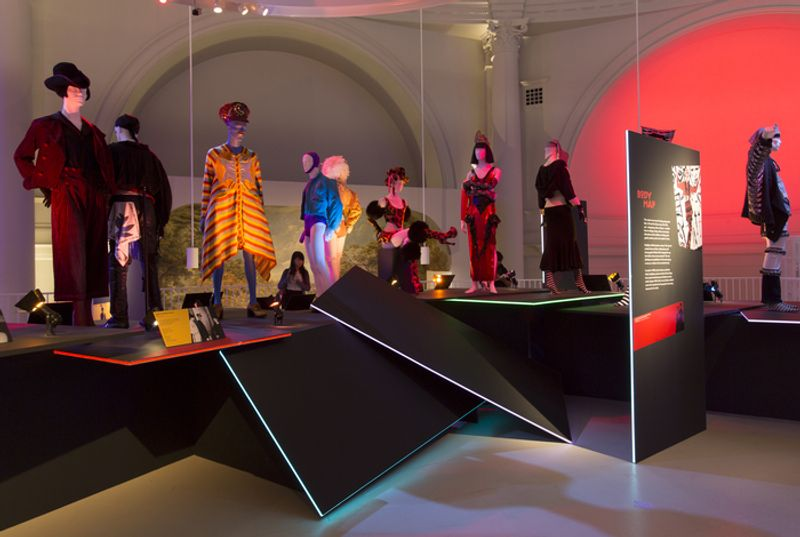V&A Club to Catwalk: London Fashion in the 80s  Exhibition