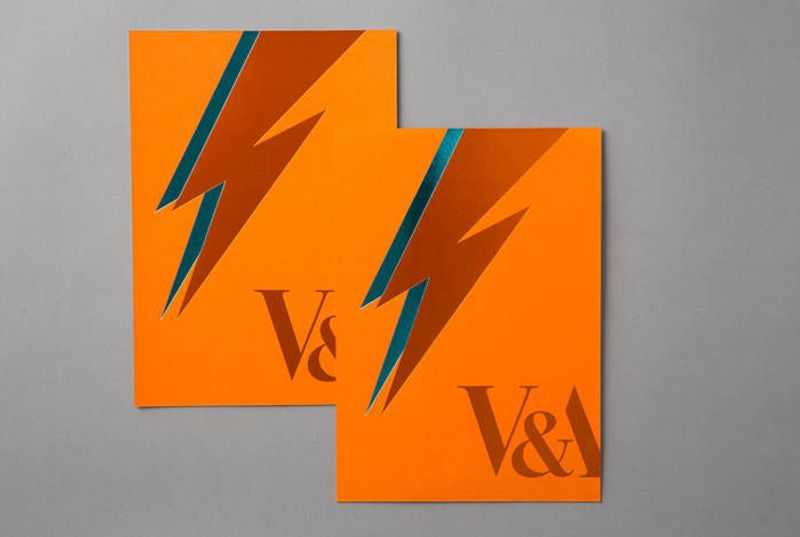 V&A Bowie Invites