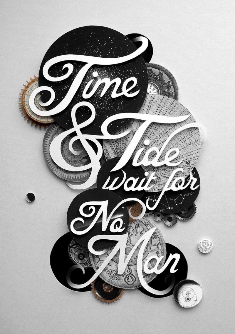 TIME & TIDE WAIT FOR NO MAN