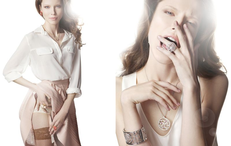 Jewellery campaign by Laurent