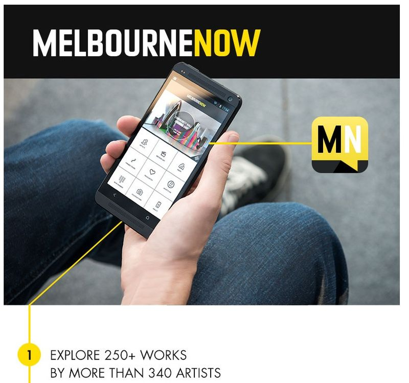 NGV MELBOURNE NOW RESPONSIVE WEBSITE, ANDROID AND IOS APPS