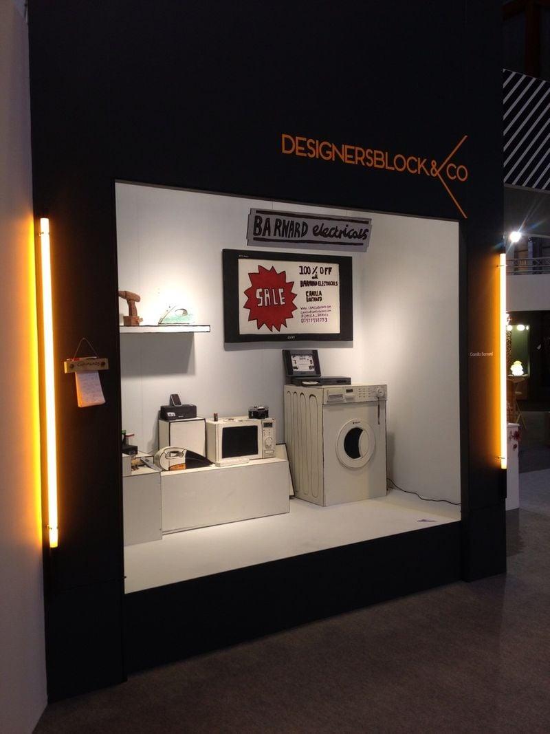 Designersblock & Co Department Store Window (Barnard Electricals)