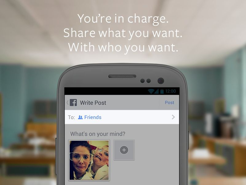 Facebook 2014: Share What You Want