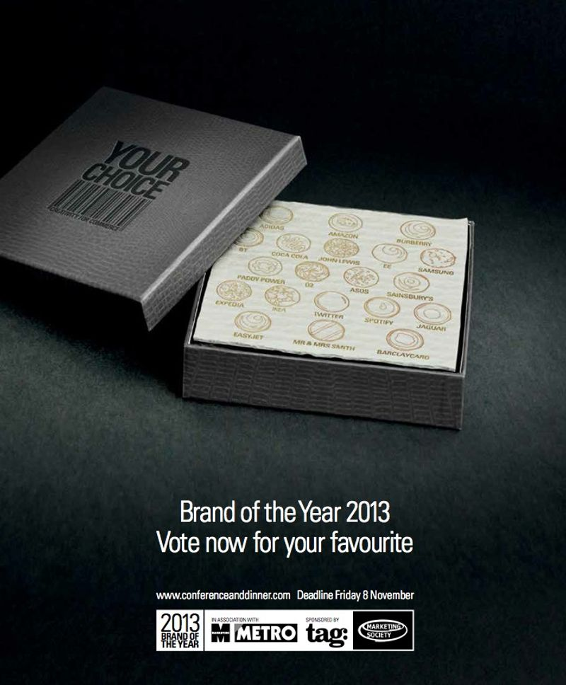 Brand of the Year 2013