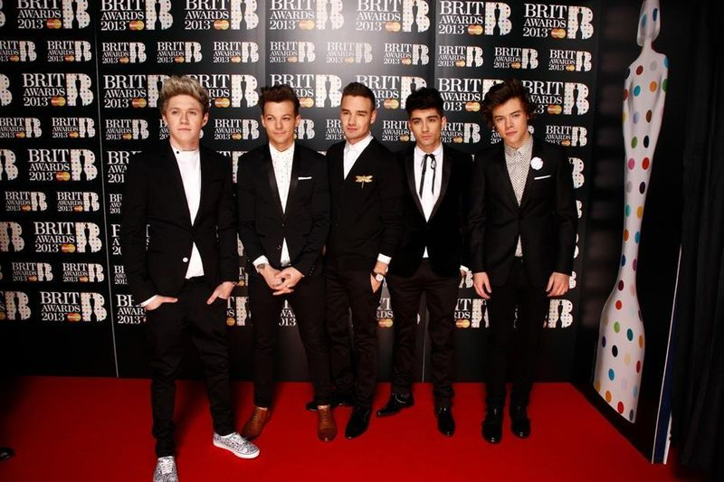 Brit Awards 2013 Red Carpet