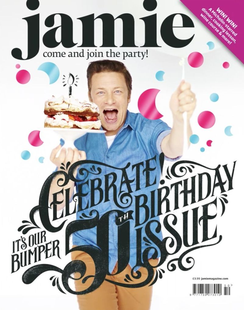 Jamie Oliver Magazine 50th Edition