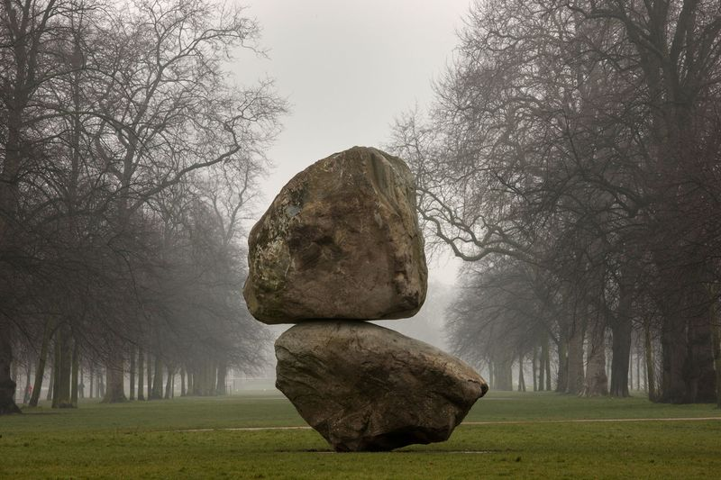Fischli/Weiss, Rock on Top of Another Rock