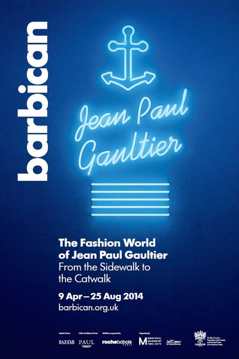 Tatty Devine X The Barbican X Jean Paul Gaultier