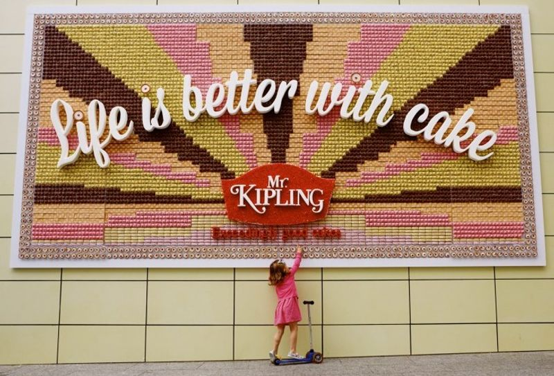 JWT London creates an edible Mr Kipling poster