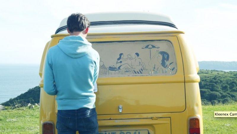 Kleenex Camper Van Art
