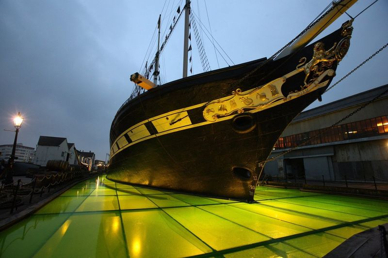 GESAMTKUNSTWERK - SS GREAT BRITAIN - BRISTOL