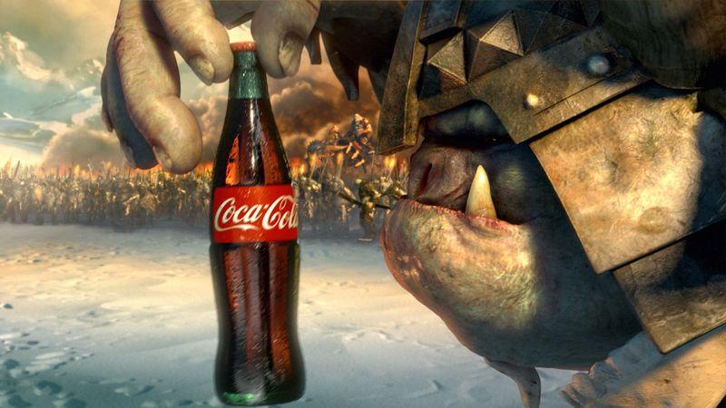 Coke: 'Siege' (Fx Goby & Mathieu Landor)