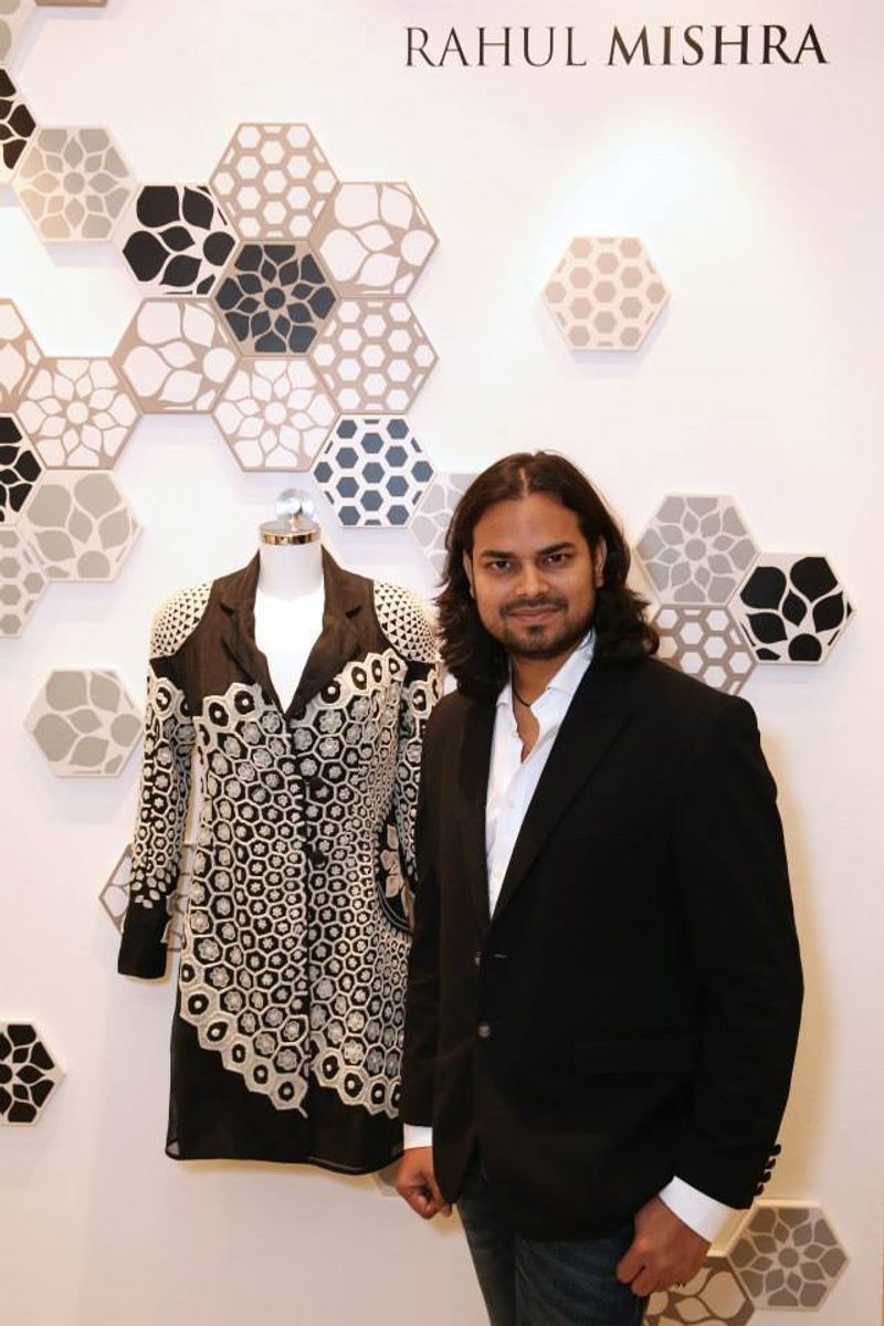 RAHUL MISHRA EXCLUSIVE LAUNCH