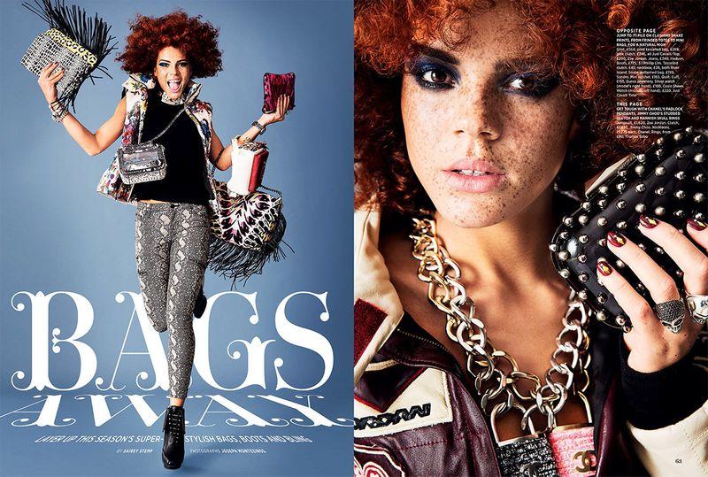Bags Away - Cosmo Magazine