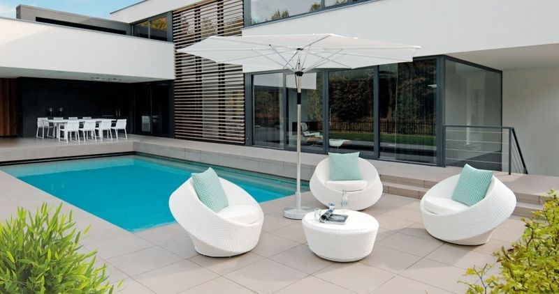outdoor furniture Bergamo lounge collection