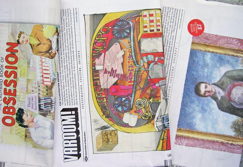Varoom - the illustration report
