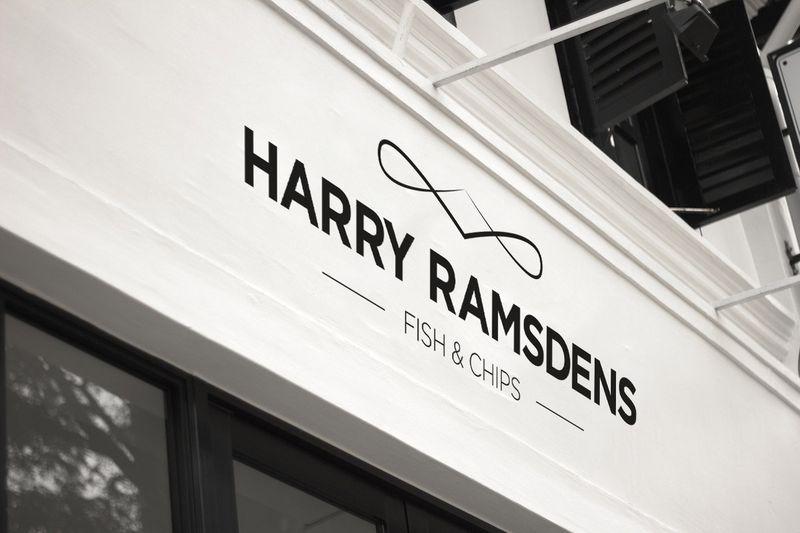 Harry Ramsdens Rebrand