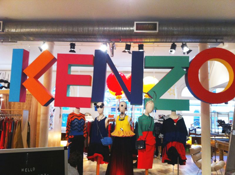 Kenzo at The Corner Shop