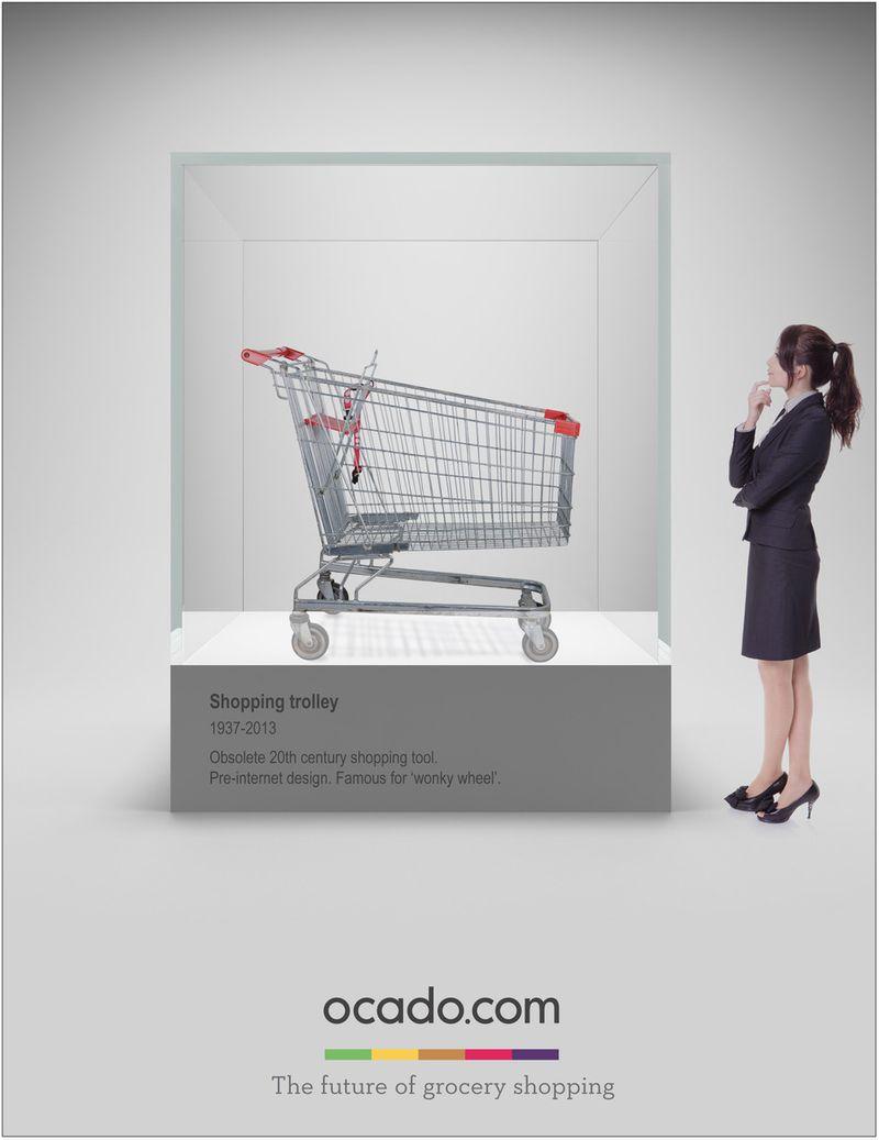 Ocado print campaigns