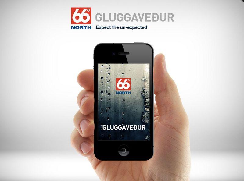 66 º NORTH - Window Weather App (Gluggavedur)