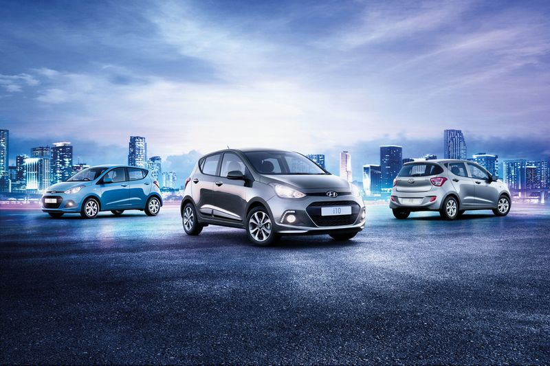 Hyundai i10 - Art direction and brochure