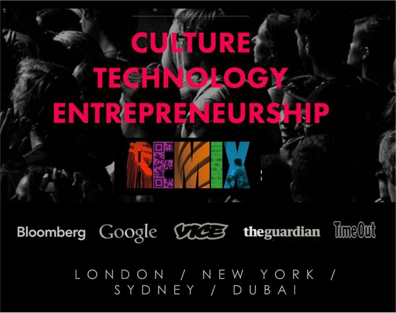 REMIX SUMMIT 2014 - CULTURE, TECHNOLOGY, ENTREPRENEURSHIP - DEC 2-3 - GOOGLE