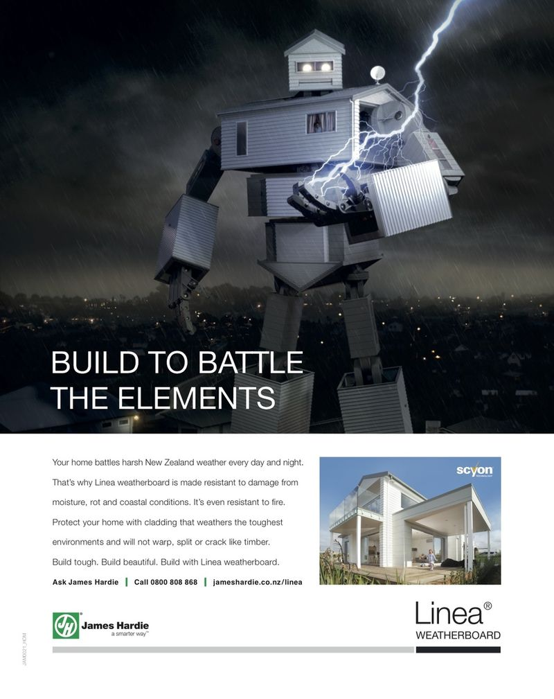 James Hardie Linea TV campaign