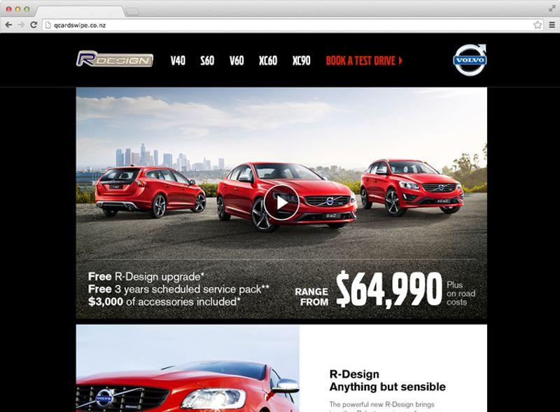 Volvo R Design Website