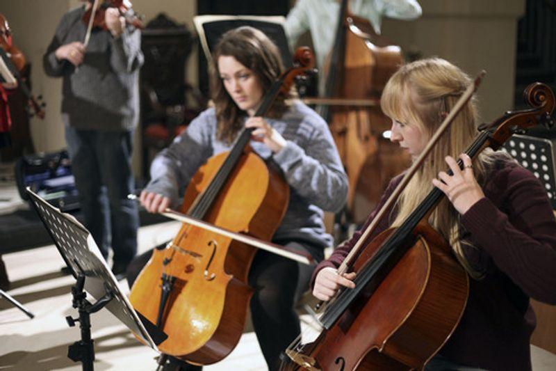 Aldwych Synfonia Orchestra Shoot