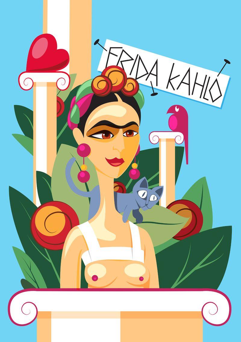 Frida Kahlo, exhibition