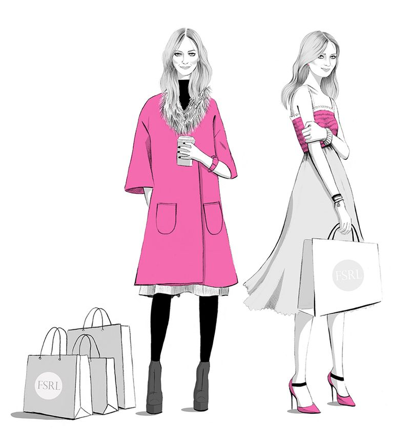 Fashion Illustrations Four Seasons Recruitment London