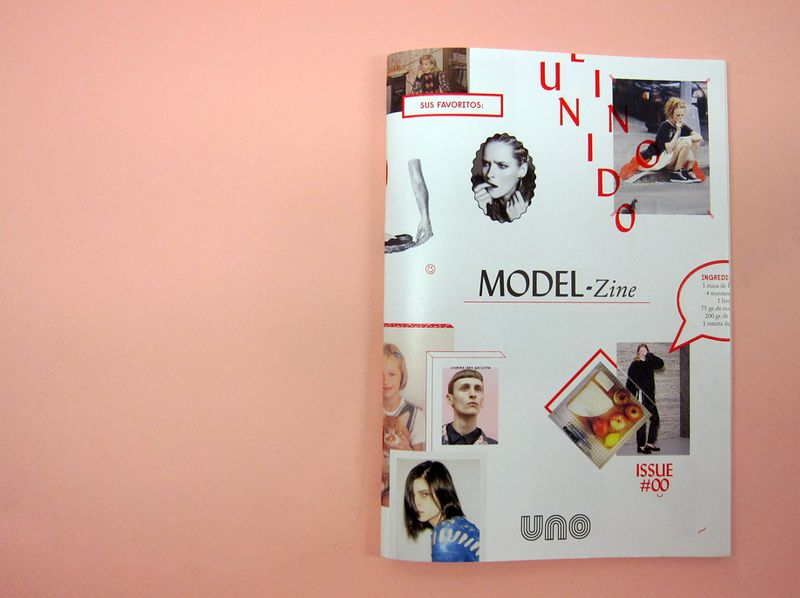 Creative direction for UNO models magazine
