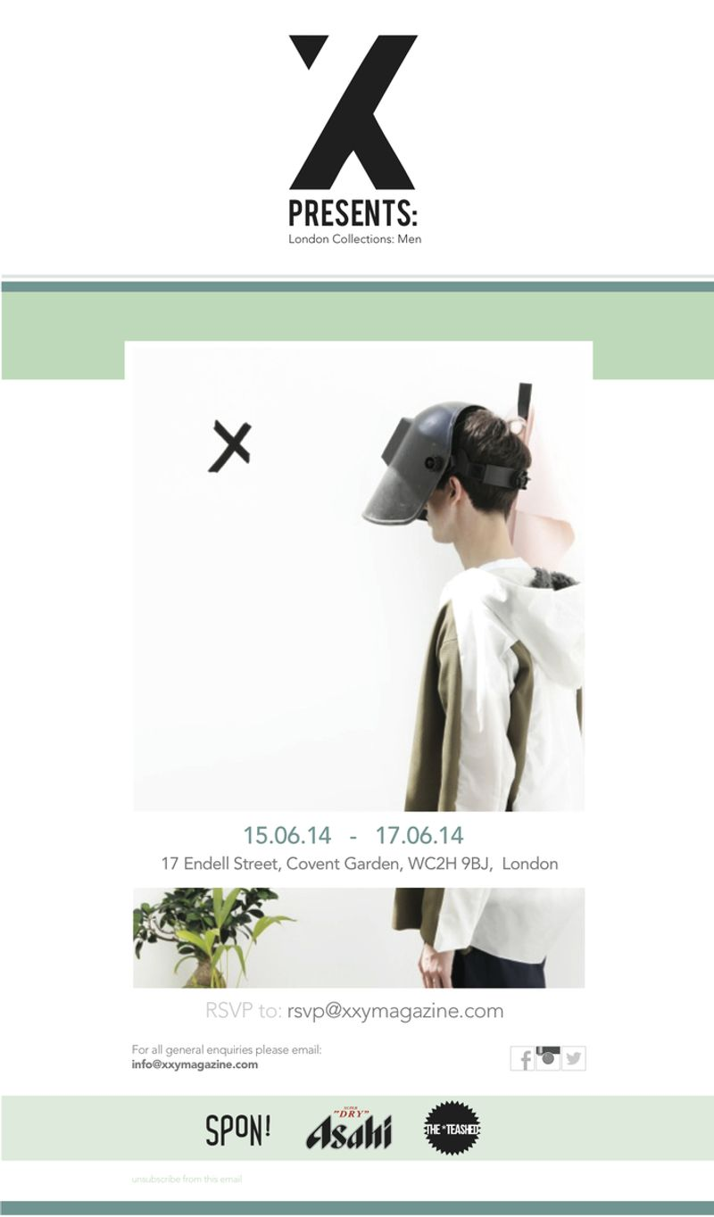 XXY Presents: London Collections: Menswear