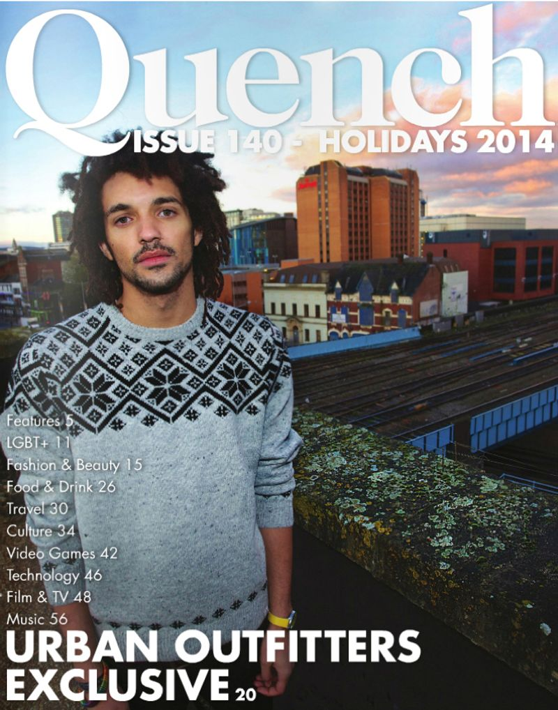 QUENCH MAGAZINE COVER AND URBAN OUTFITTERS ADVERTORIAL