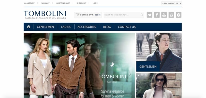 Tombolini Online Store