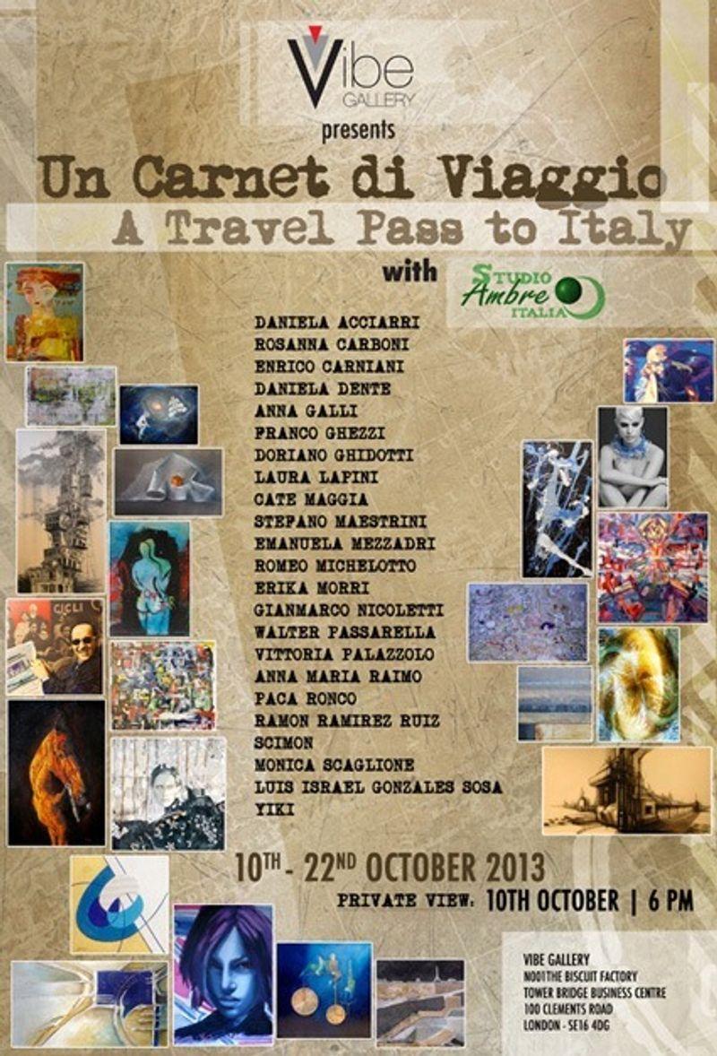 Travel Diary Exhibition