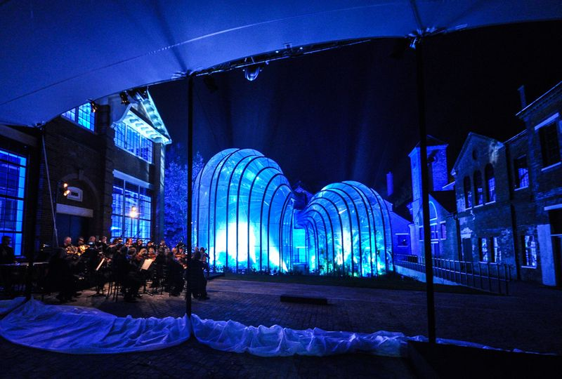 Bombay Sapphire Laverstoke Mill Opening