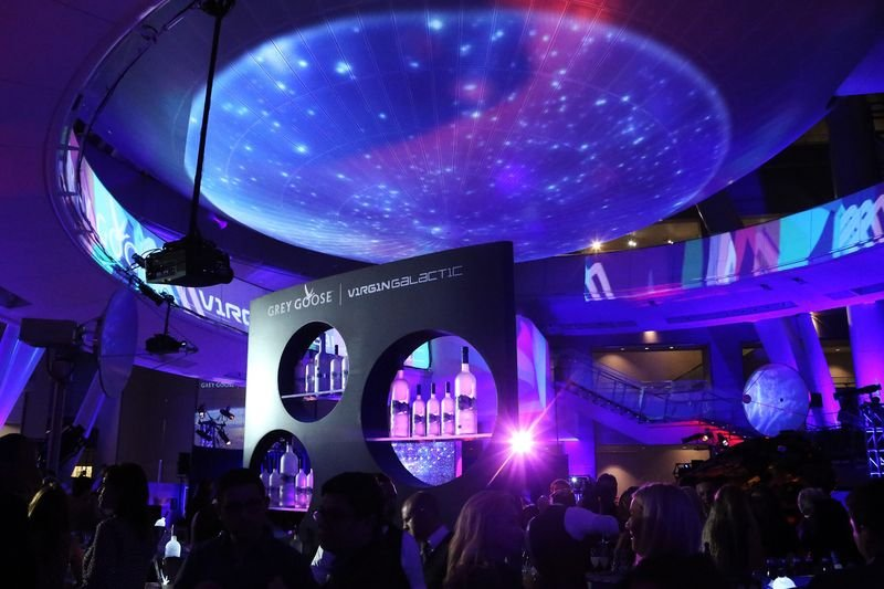 Grey Goose - Virgin Galactic Partnership Launch NY