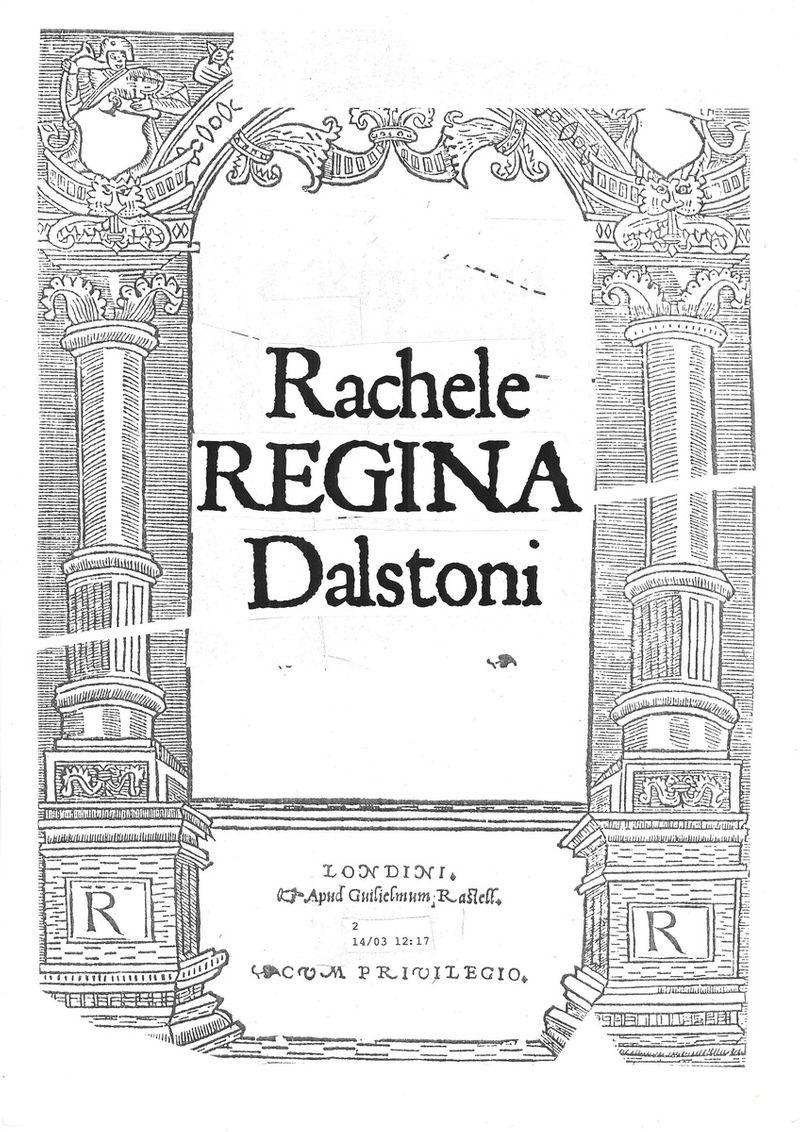 Rachele Regina Dalstoni