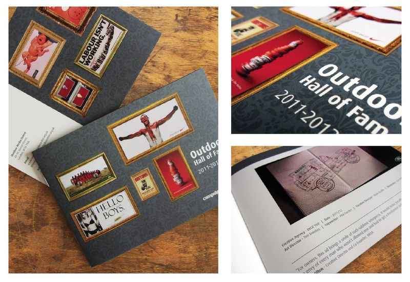 OMC Hall of Fame winners booklet